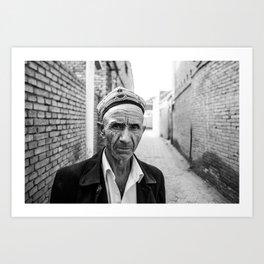 Uyghur Art Print