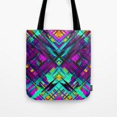 Colorful digital art splashing G472 Tote Bag