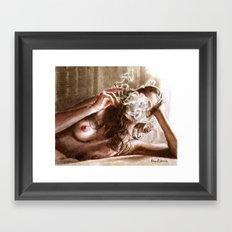 Smoke/2 Framed Art Print