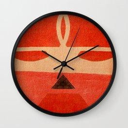 Lucha Libre Mask 1 Wall Clock