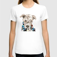 pit bull T-shirts featuring a pit bull day by bri.buckley