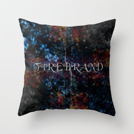Firebrand Throw Pillow
