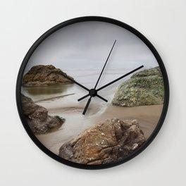 Cloudy Day At Moonstone Wall Clock
