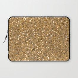 Gold Glitter Laptop Sleeve