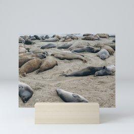 Beach Babes Mini Art Print