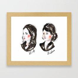 My Favorite Murder ssdgm LOOK-LISTEN Framed Art Print
