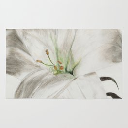 Lily flower Rug