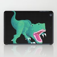 dinosaur iPad Cases featuring Dinosaur by Flame