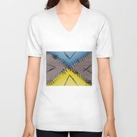 road V-neck T-shirts featuring Road by Guilherme Poletti