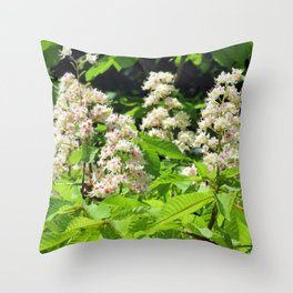 chestnuts Throw Pillow