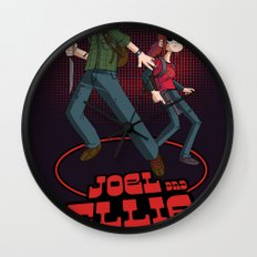 Joel and Ellie VS. the World Wall Clock