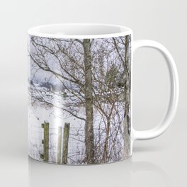A snowy view to Wardle Coffee Mug