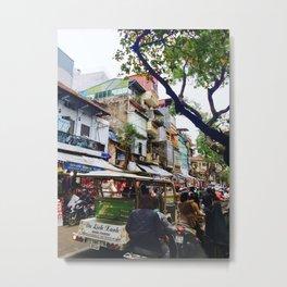 hanoi Metal Print