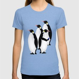 Penguin On A Mobile Device T-shirt