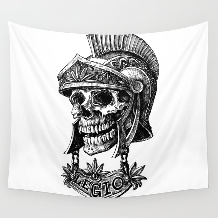 I'm a soldier Wall Tapestry