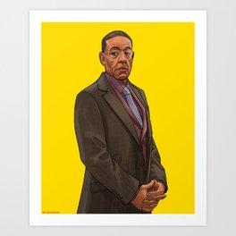 Gus Fring Art Print