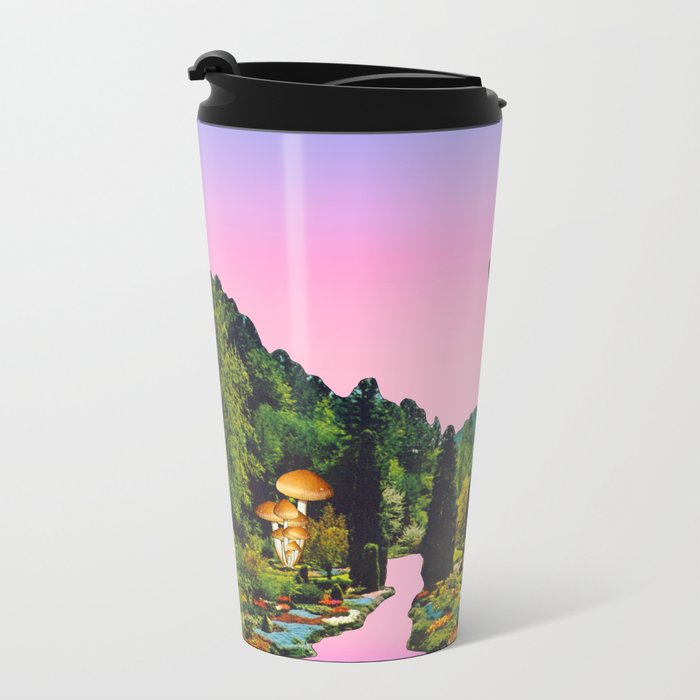 Giant deer Metal Travel Mug