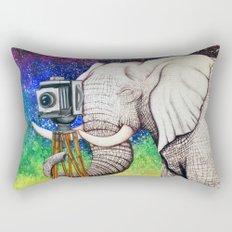 Elephant II Rectangular Pillow