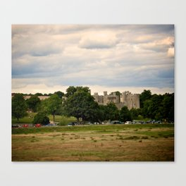 Bodiam Castle From Bodiam Station Canvas Print