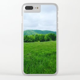 Blue Ridge Clear iPhone Case