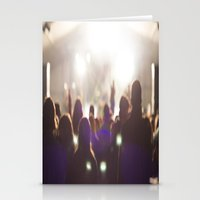 concert Stationery Cards featuring Concert by LaiaDivolsPhotography