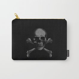 Hacker Skull and Crossbones Carry-All Pouch