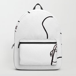 She is Strong Backpack
