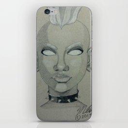 Punk Storm iPhone Skin