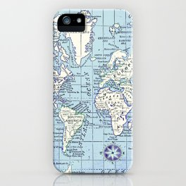 A Really Nice Map iPhone Case