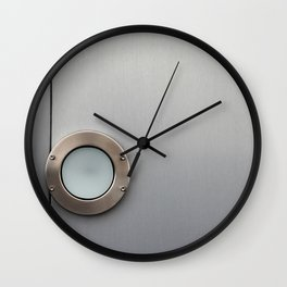 Top Light Wall Clock