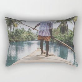 Rivers of India Rectangular Pillow