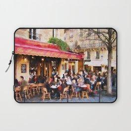 Paris Café Laptop Sleeve