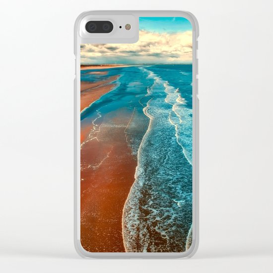 Sky Tide Clear iPhone Case