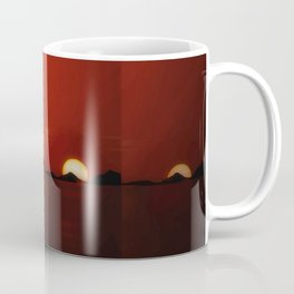 Zonsondergang Victoria lake Coffee Mug