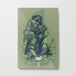 Just Don't Metal Print
