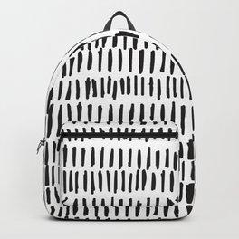 Black & White Lines  Backpack