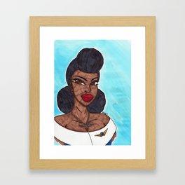 Queen of the Air Framed Art Print