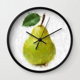 Big Pear Wall Clock