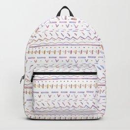 Sketchy Pattern in Sunrise Backpack