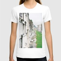 new orleans T-shirts featuring New Orleans Graveyard  by Carey Lee Designs