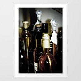 Wineography Art Print