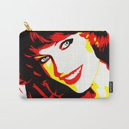 Milla Jovovich - Celebrity - Illustration Art Carry-All Pouch
