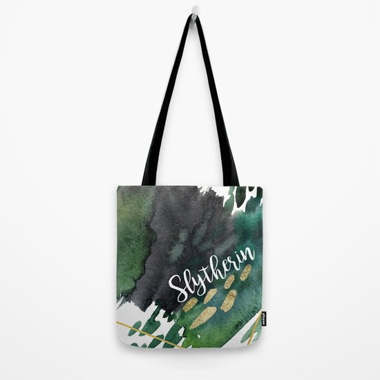 Slytherin Green Tote Bag