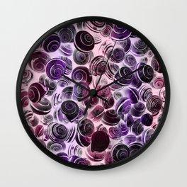 X-Swirls Wall Clock