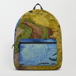 Vincent van Gogh - Wheatfield with Crows Backpack