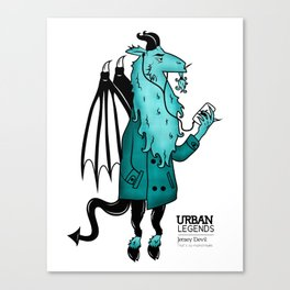 Jersey Devil Canvas Print