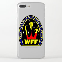 Wallops Flight Facility Clear iPhone Case