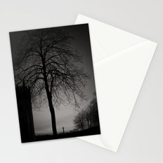 silhouette at Durham Cathedral Stationery Cards