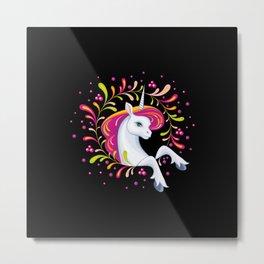 beautiful unicorn 2 Metal Print