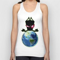 invader zim Tank Tops featuring Invader Zim by Proxish Designs